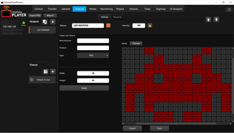 Modulo Player media server - Modulo-PI