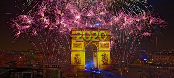 2020 celebration in Paris