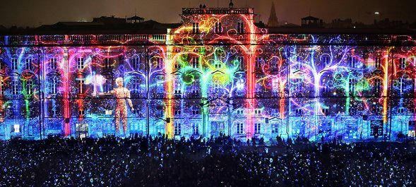 Lyon Light Festival 2019 - Modulo Pi