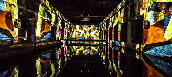 Bassins de Lumières - Modulo Pi