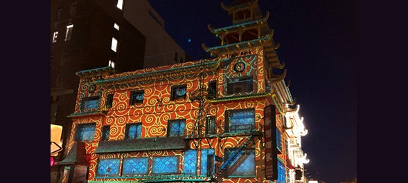 Chinese New Year mapping, San Francisco